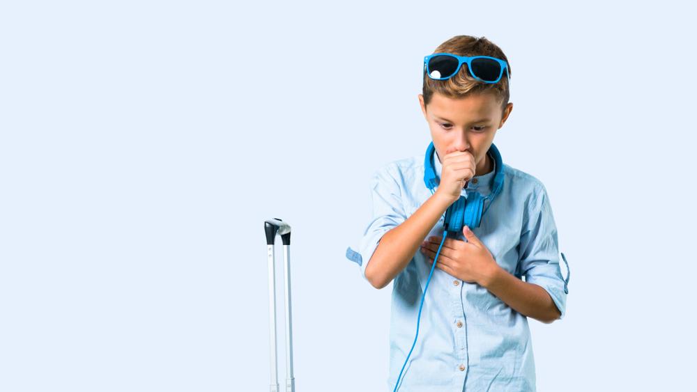 4 Tips Liburan Saat Anak Flu dan Batuk