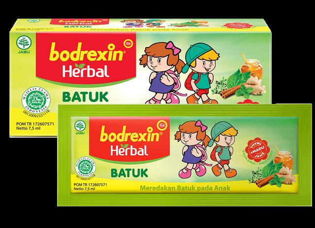bodrexin herbal anak kemasan sachet