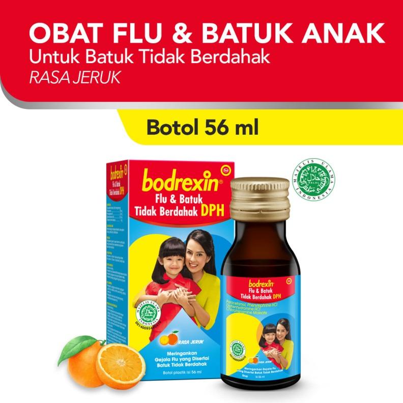 bodrexin Flu Batuk Tidak Berdahak DPH